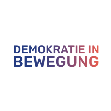 Demokratie in Bewegung, Logo